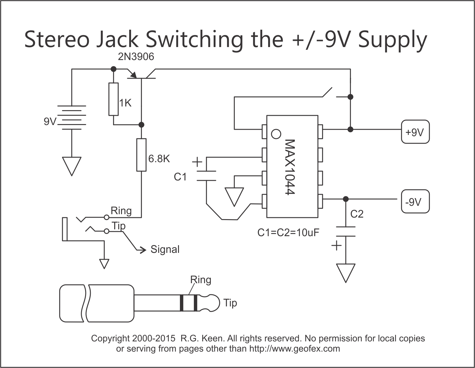 Geofex Voltage Double With Transistor Switching How Does It Work Simple Switch Circuit
